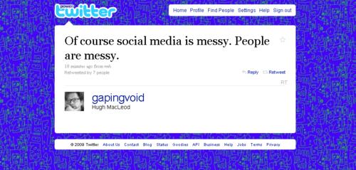 Socialmediaismessy