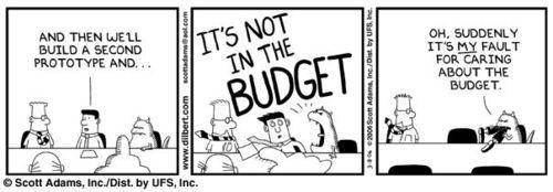 Agile budgets