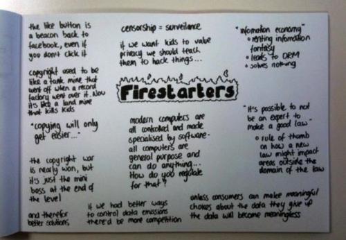 Google Firestarters